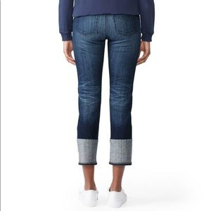 AG Jeans Isabelle High Rise Straight Crop 26 $210